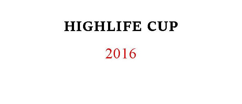 Risultati dell'Highlife Cup 2016