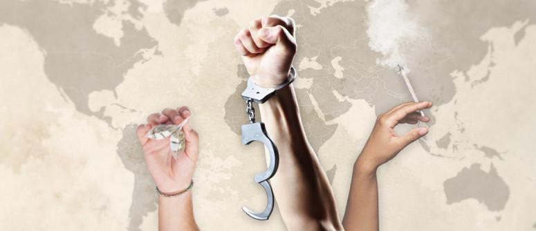 Legalize - Mappa del mondo
