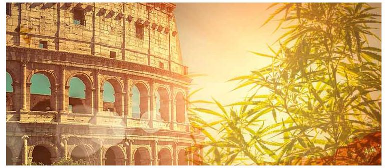 La cannabis nell'antica Roma