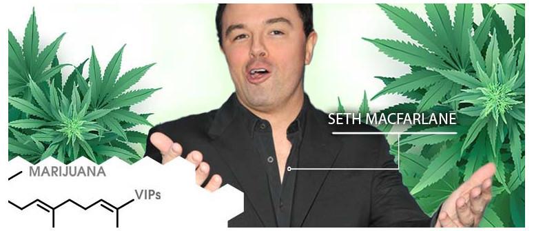 VIP della Marijuana: Seth MacFarlane