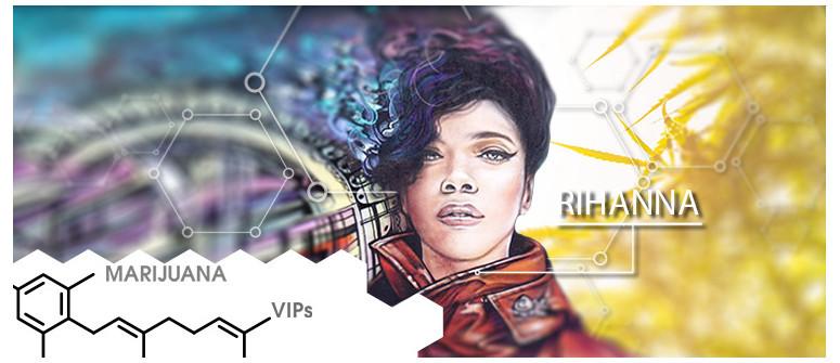 VIP della Marijuana: Rihanna
