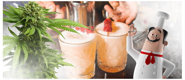 La ricetta del Weed 'N Whisky Sour