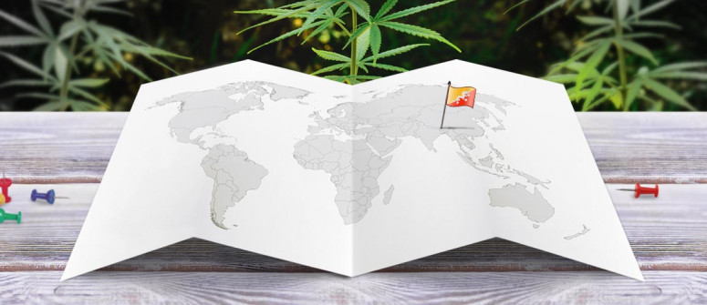 Stato legale della cannabis in Bhutan