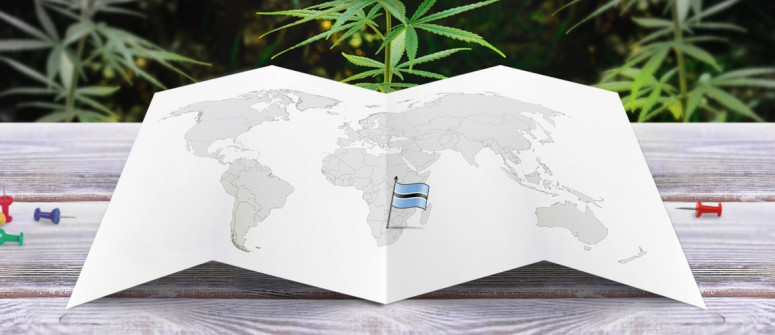 Stato legale della cannabis in Botswana