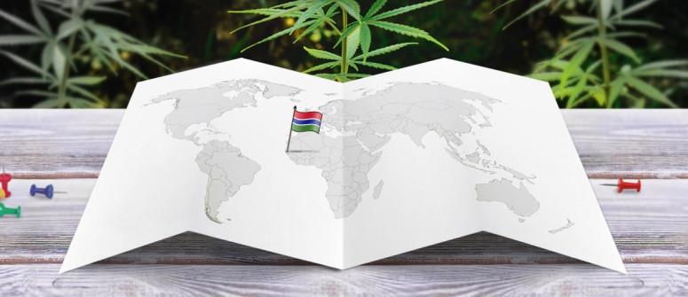 Stato legale della cannabis in Gambia