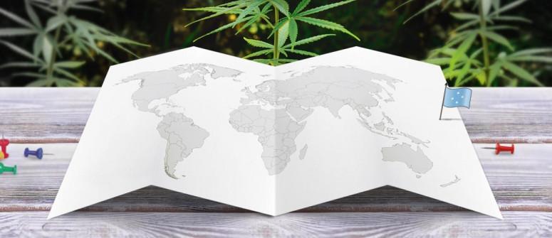 Stato legale della cannabis in Micronesia