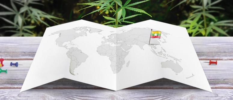 Stato legale della cannabis in Myanmar (Birmania)