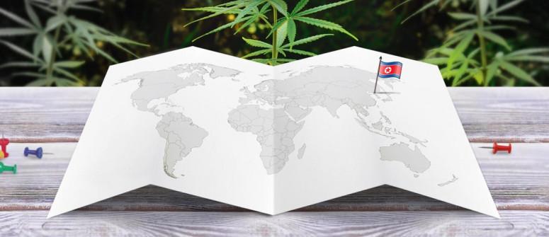 Stato legale della cannabis in Corea del Nord