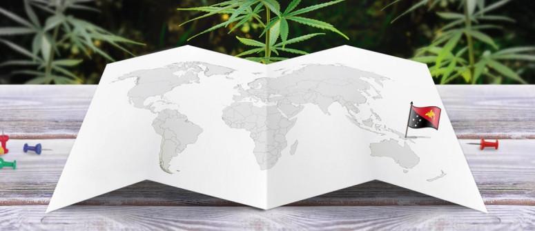 Stato legale della cannabis in Papua Nuova Guinea