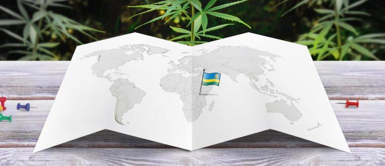 Stato legale della cannabis in Ruanda
