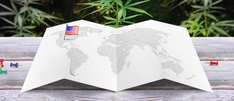 Statuto giuridico della marijuana negli Stati Uniti