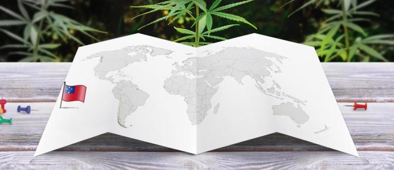 Stato legale della cannabis in Samoa