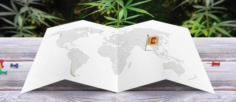 Stato legale della cannabis in Sri Lanka