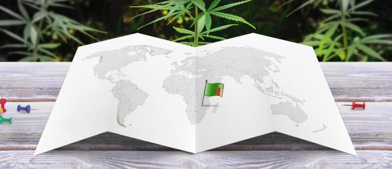 Stato legale della cannabis in Zambia