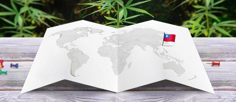 Stato legale della cannabis a Taiwan