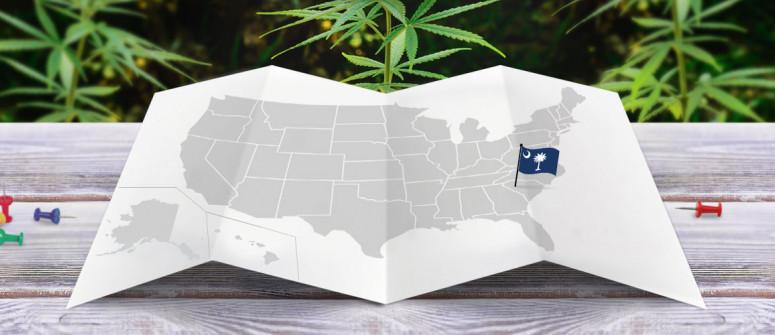 Statuto Giuridico della Marijuana nello Stato del Carolina del Sud
