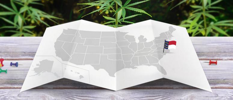 Statuto Giuridico della Marijuana nello Stato del Carolina del Nord