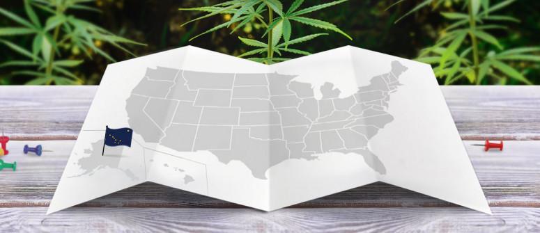 Statuto Giuridico della Marijuana nello Stato dell'Alaska