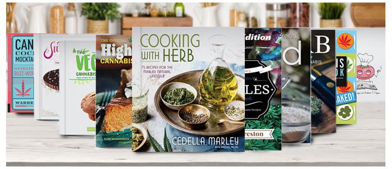 10 Libri Che Ispirano A Cucinare Con La Cannabis