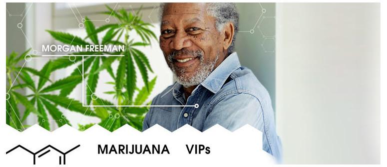 VIP della Marijuana: Morgan Freeman