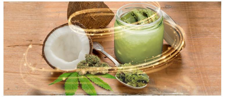 Olio di cocco alla cannabis: benefici e preparazione