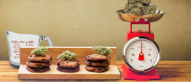 Come calcolare le dosi per gli alimenti a base di cannabis