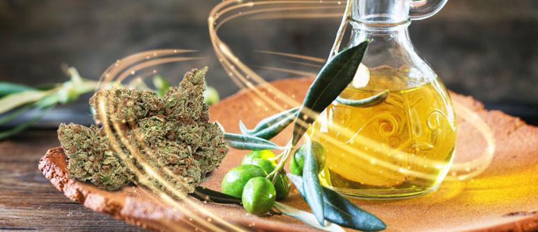 Come Preparare Olio d'Oliva Infuso di Cannabis