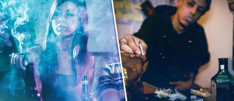 Marijuana e alcol: Un mix pericoloso?