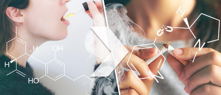 Cannabidiolo & Dipendenza Da Nicotina: Il CBD Può Aiutare A Smettere Di Fumare Tabacco?