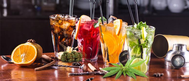 3 Squisiti Cocktail alla Cannabis Senza Alcool