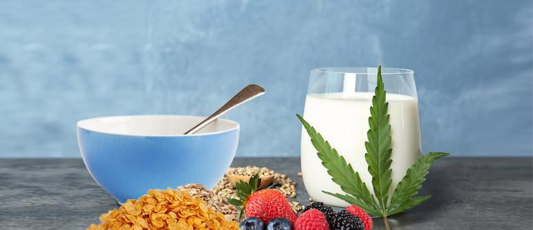 Latte Alla Cannabis E Cereali: La Colazione Dei Campioni!