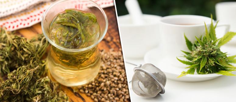 Come preparare il tè alla cannabis e al CBD