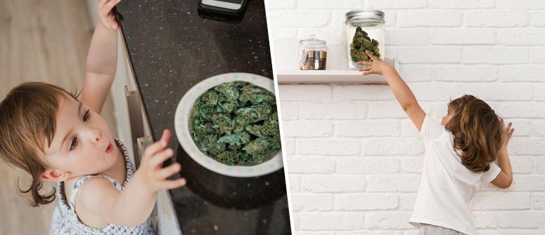 10 Consigli per tenere la marijuana lontano dalla portata dei bambini