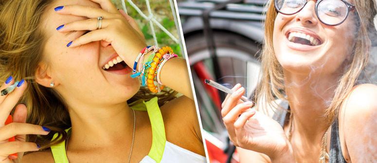 Perché la marijuana vi fa ridere?