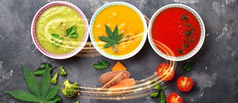 3 ricette di zuppa alla cannabis con cui scaldarsi in inverno